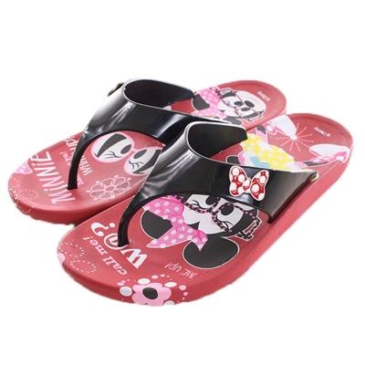 迪士尼米妮夾腳拖鞋 紅 sk0132 魔法Baby