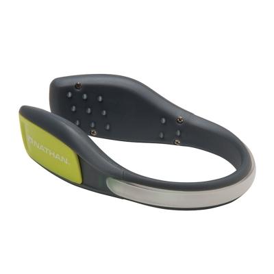 NATHAN LightSpur 防水LED鞋環 綠