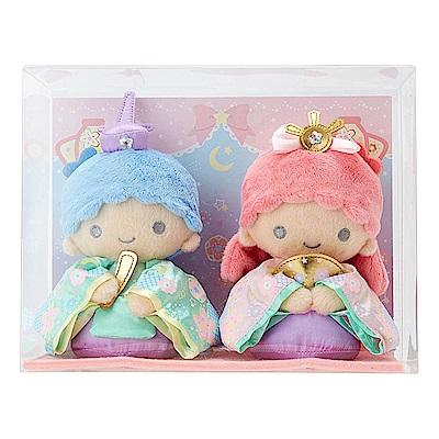 Sanrio 雙星仙子和風女兒節絨毛娃娃組(2018)