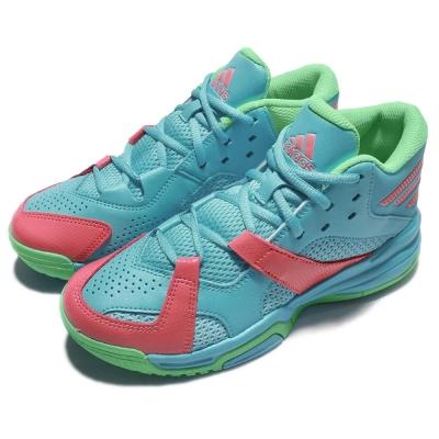 adidas 籃球鞋 First Step 運動 女鞋