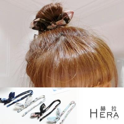 Hera-兔耳朵花苞頭-丸子頭盤髮髮棒-八款