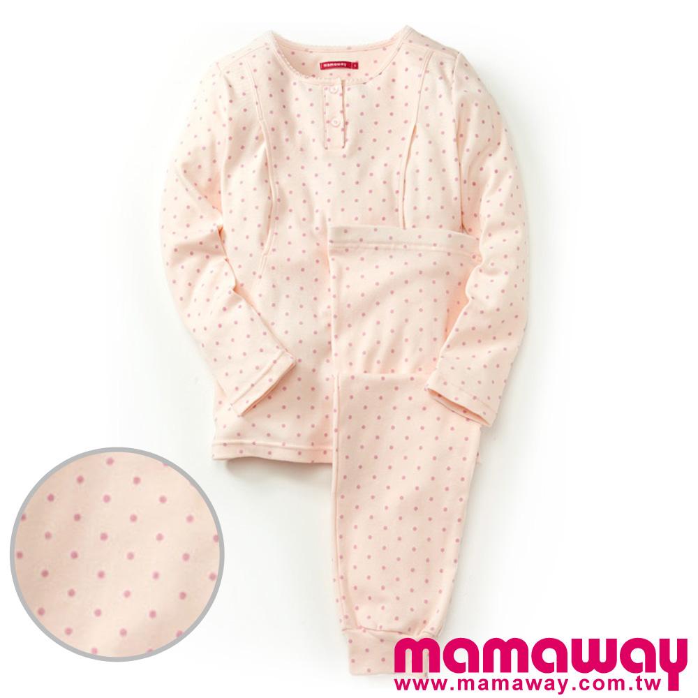 Mamaway 點點孕哺兩用居家服(共二色)