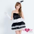 兔女郎 惹愛甜心 動物派對表演角色扮演服(黑F) AngelHoney天使霓裳