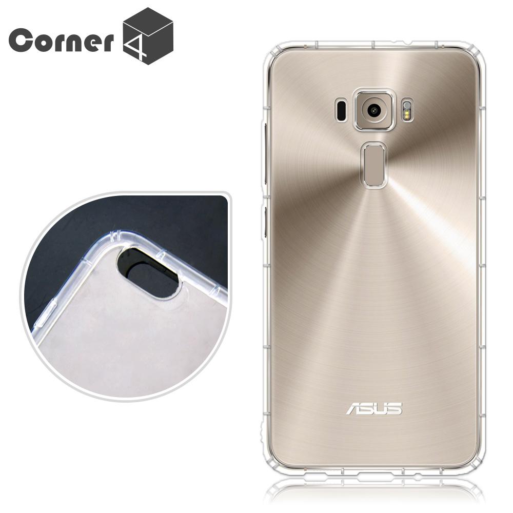 Corner4 ASUS ZenFone 3 ZE520KL透明防摔手機空壓軟殼