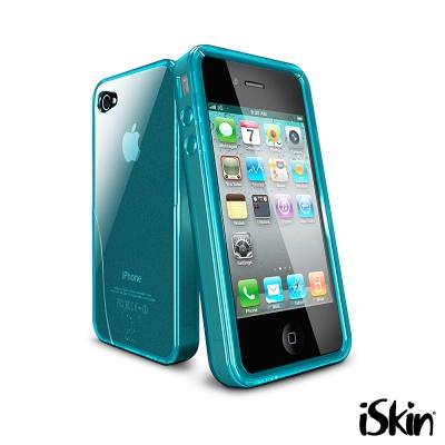 iSkin iPhone4/4S Solo 超晶透抗菌 TPU 保護套