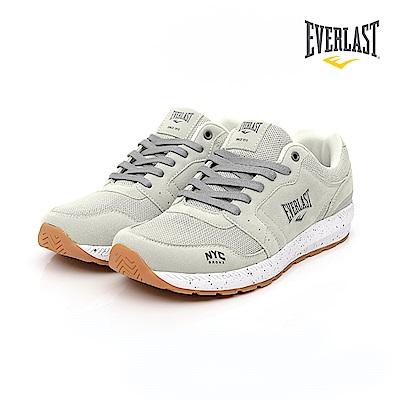 EVERLAST 復古慢跑鞋-男-淺灰