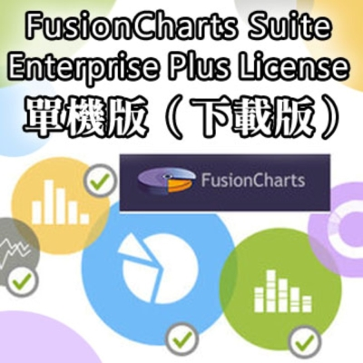 FusionCharts Suite Enterprise plus License 單機
