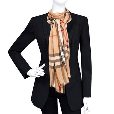BURBERRY 黑色V領單排釦長版西裝外套-US6/8號