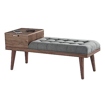 Boden-傑諾多功能單抽收納椅凳/長椅凳/餐椅-115x40x49cm