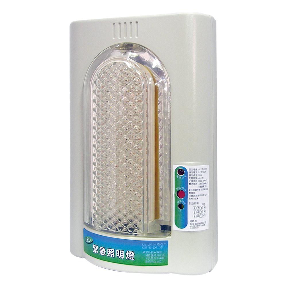太星電工 夜神400-24LED緊急照明燈(暖白光)個檢 IG4001