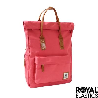 Royal Elastics - 捲蓋式小型後背包 - Rainbow彩虹甜心- 橘紅