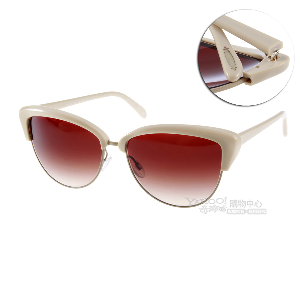 OLIVER PEOPLE太陽眼鏡 好萊塢星鏡/杏色#ALISHA 1370