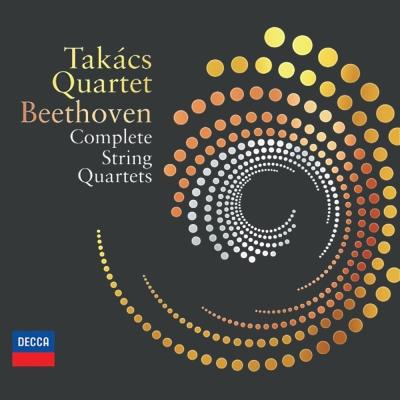 貝多芬弦樂四重奏全集(7CD + BD Audio + DVD)
