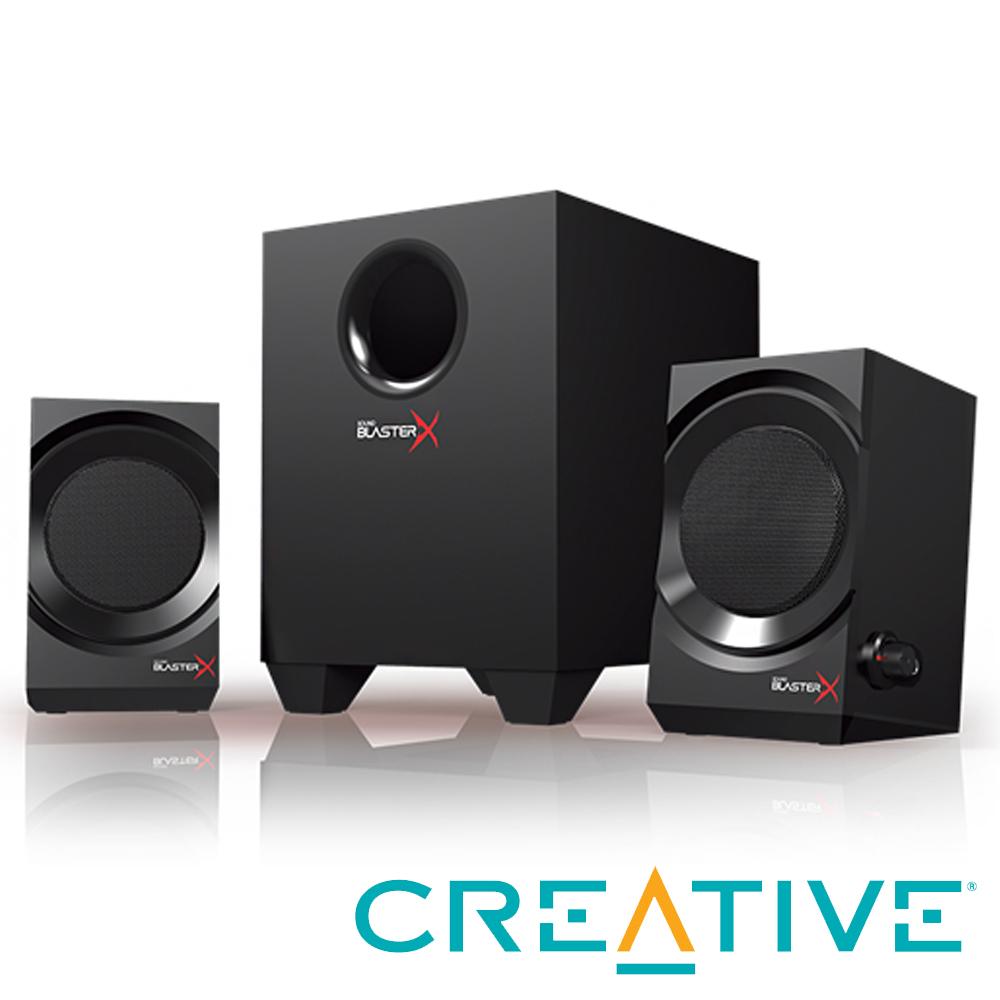 CREATIVE Sound BlasterX Kratos S3 2.1聲道電競喇叭組