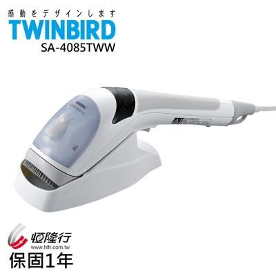 日本TWINBIRD-手持式離子蒸氣熨斗SA-4085TWW