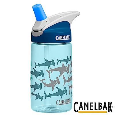 《CAMELBAK》兒童吸管運動水瓶 帥氣鯊魚 400ml (CB1274412040)