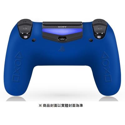 DUALSHOCK 4 無線控制器專用矽膠保護套 (藍)