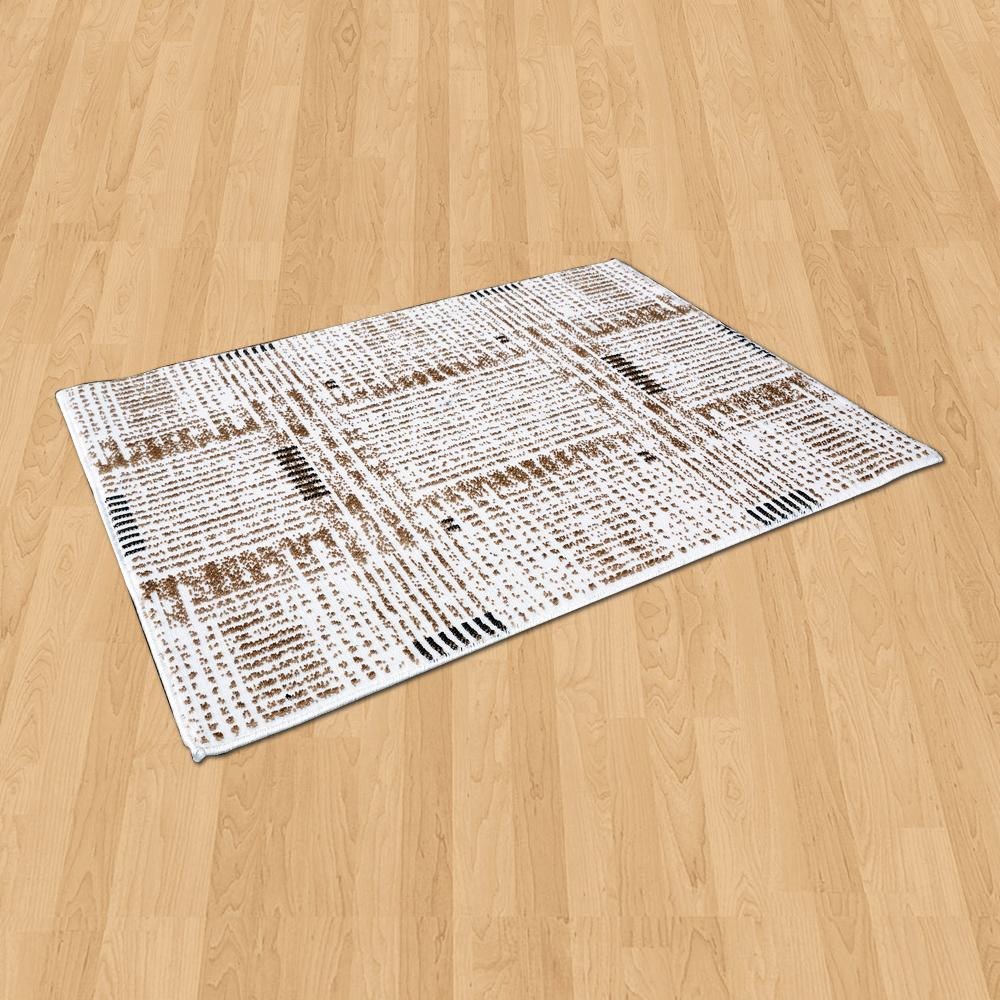 Ambience 比利時 Palmas 玄關/床邊 絲光地毯 -雪粹 (68x110cm)