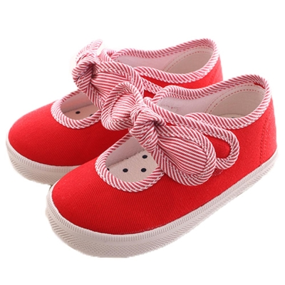 BOB DOG帆布娃娃鞋 紅 sk0044 魔法Baby