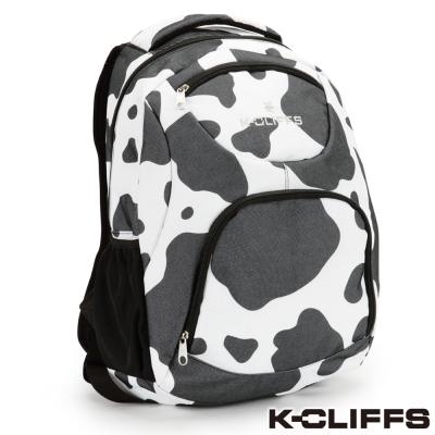 美國K-CLIFFS 大麥町造型後背包_黑白