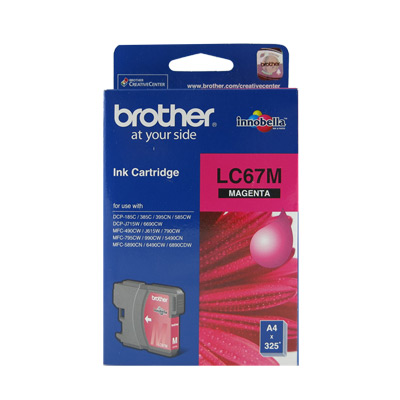 Brother LC67 原廠紅色墨水匣