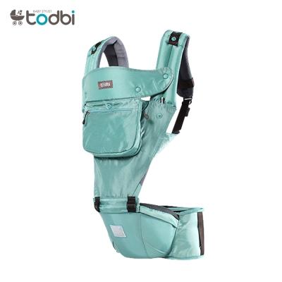 【麗嬰房】TODBI AIR MOTION時尚氣囊款坐墊式背巾(薄荷綠)
