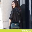 MIRYOKU 時尚星彩系列 / 鉚釘鏈帶貝殼斜背包(共3色)