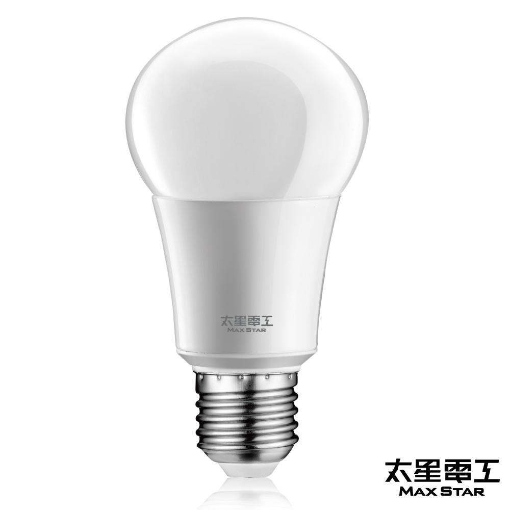 太星電工 LED燈泡 E27/10W/白光(6入)