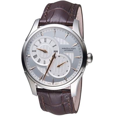 Hamilton時間玩家系列倒蘆型機械腕錶(H42615551)-42mm