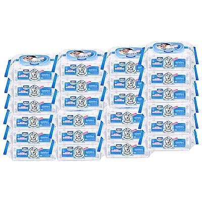 貝恩 Baan 嬰兒保養柔濕巾/80抽(3包x8串)箱購