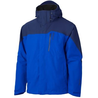 Marmot-30420-Palisades-FL-GTX-兩件式風雨衣-男-藍