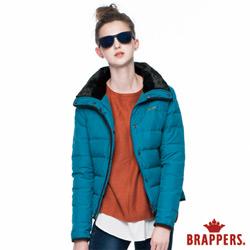 BRAPPERS  毛領短版羽絨外套
