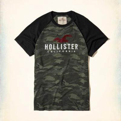 Hollister HCO 短袖 LOGO T恤 綠色 426