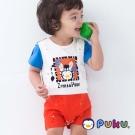 PUKU藍色企鵝 可愛變身PUKU斑馬造型連身裝(小童)