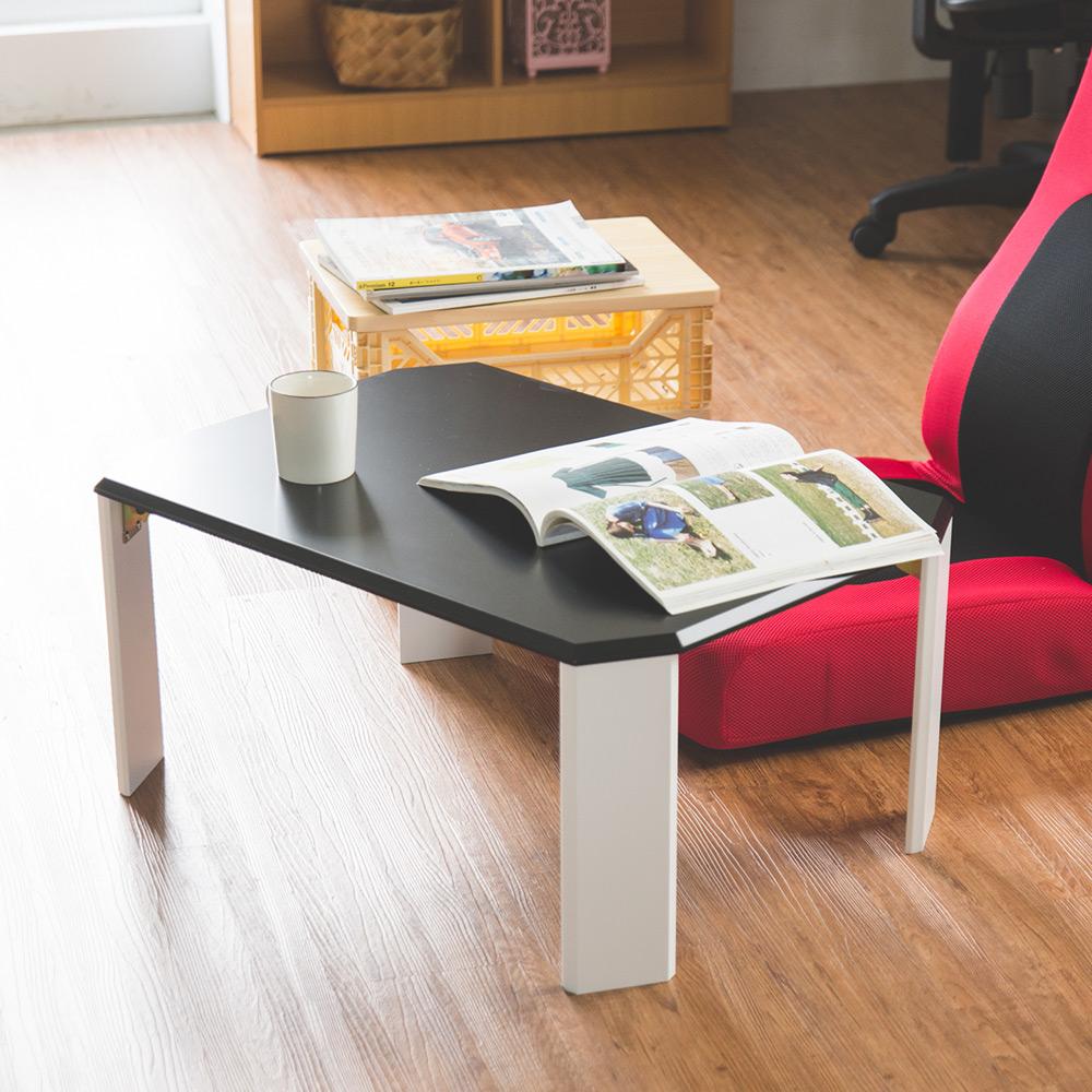 Home Feeling 折疊桌/和室桌/茶几桌/八角桌(4色)-70x50x31cm