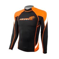 AROPEC Heroic 英雄男款長袖防曬衣 橘色