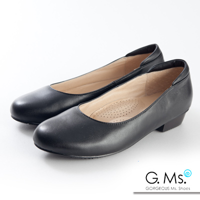 G.Ms. 小資X麻吉-MIT手工實搭全真皮平底鞋-A款