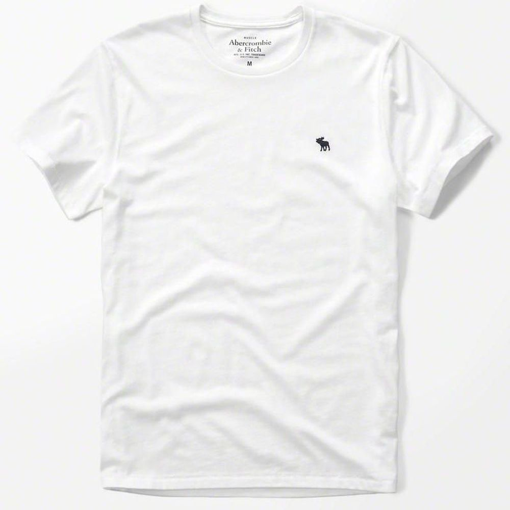 AF a&f Abercrombie & Fitch 短袖 T恤 白色 204