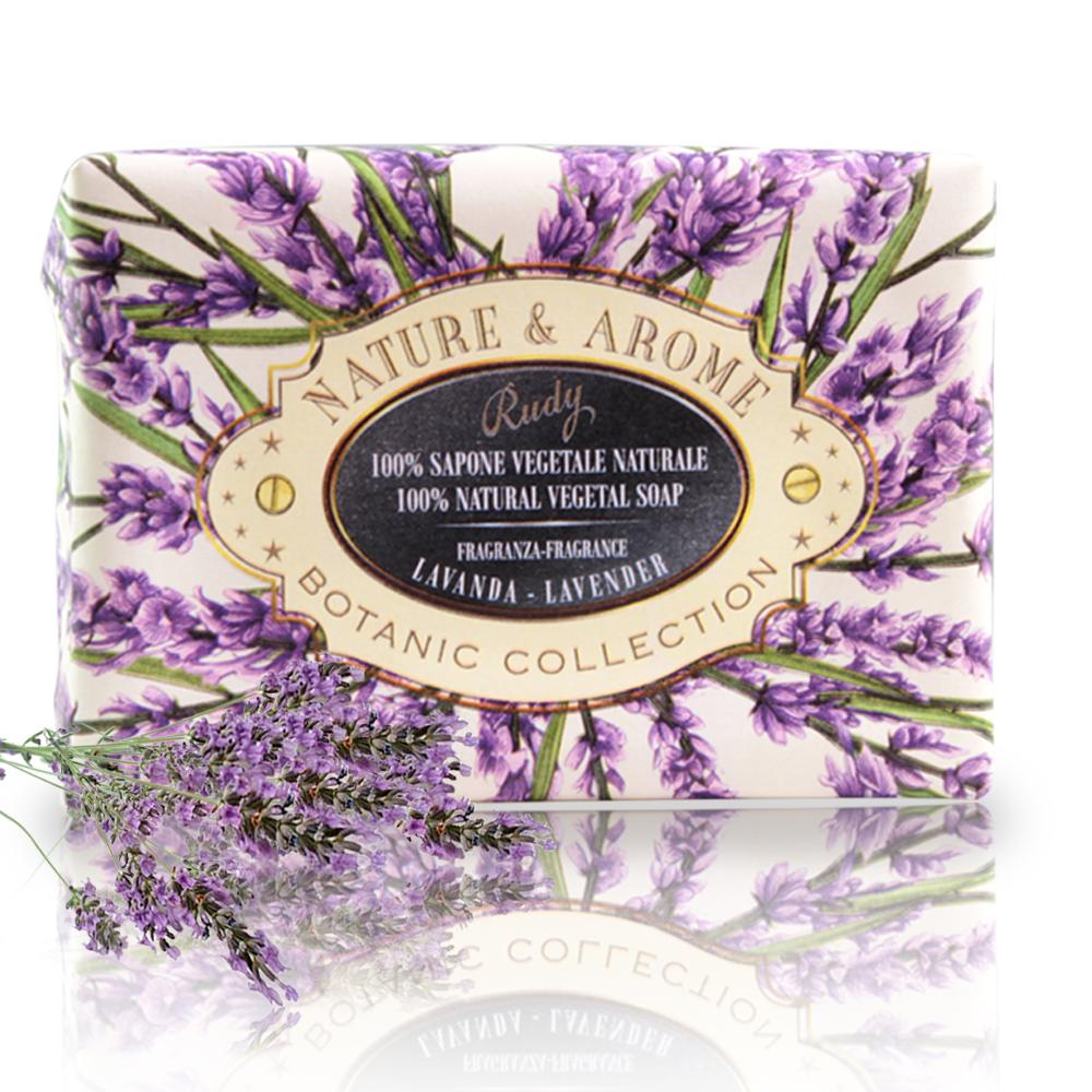 *(買一送一)義大利Rudy米蘭古典薰衣草保濕香皂150g