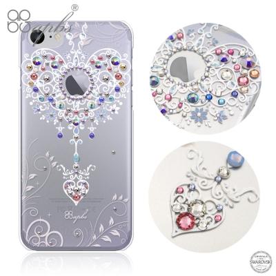 apbs iPhone7 4.7吋施華洛世奇彩鑽手機殼-永恆愛鍊