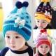 韓版可愛小兔子毛線帽 product thumbnail 1