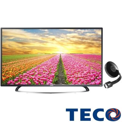 TECO東元-43吋-液晶顯示器-TL43A1TRE-Chromecast-V3電視棒