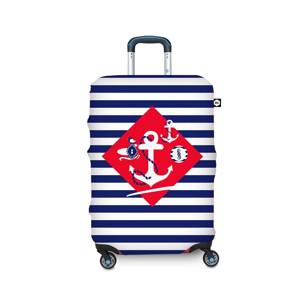 BG Berlin 行李箱套-航海風情 L (適用26-29吋行李箱)