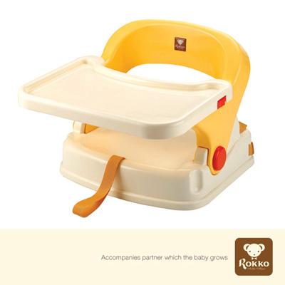 Rokko‧寶寶攜帶式餐椅