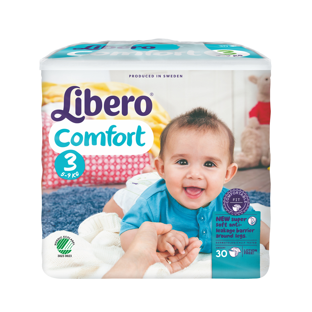 Libero麗貝樂 黏貼式嬰兒尿布(3號/4號)/包(尺寸可選)