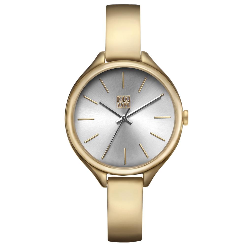 ZOOM  SHINE都會簡約時尚腕錶-金/33mm