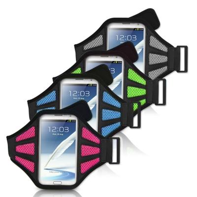 aibo 5.5吋智慧型手機用 運動網狀透氣手機臂帶