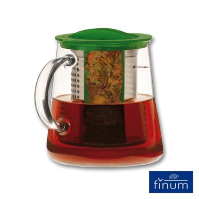 Finum 玻璃泡茶控制壺800ml(綠)