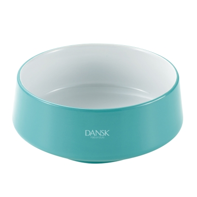 DANSK 陶瓷材質餐碗-(藍綠色)
