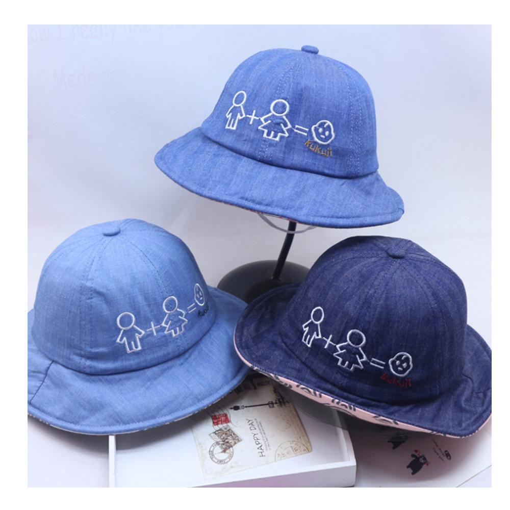 Family兒童遮陽牛仔盆帽
